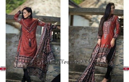Firdous Cloth Mills Korean Lawn Collection 2015 (20)