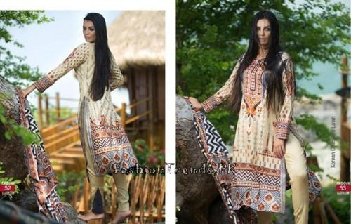 Firdous Cloth Mills Korean Lawn Collection 2015 (25)