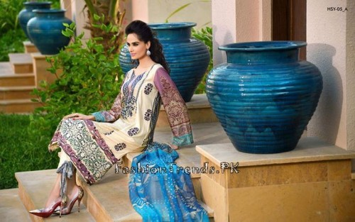 HSY Lawn Collection 2015 by Ittehad Textile (11)