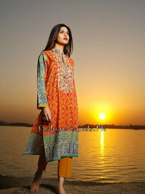 Khaadi Summer Lawn Dresses 2015 (2)