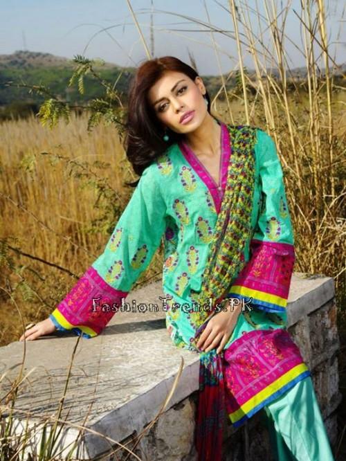 Khaadi Summer Lawn Dresses 2015 (27)