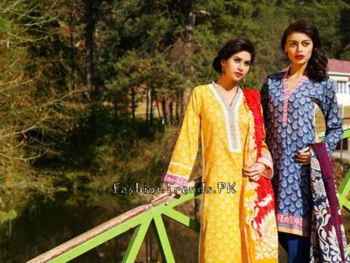 Khaadi Summer Lawn Dresses 2015 (38)