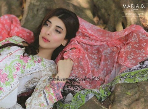 Maria B. Summer Lawn Dresses 2015 (3)