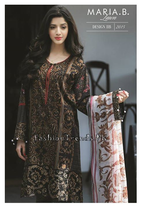 Maria B. Summer Lawn Dresses 2015 (4)
