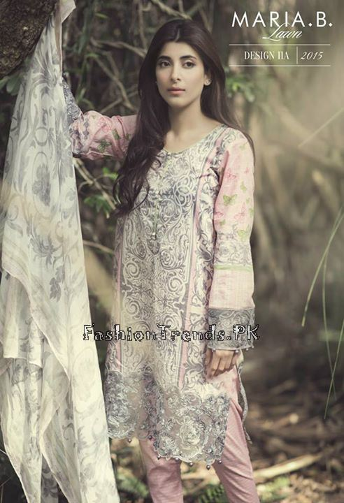 Maria B. Summer Lawn Dresses 2015 (5)