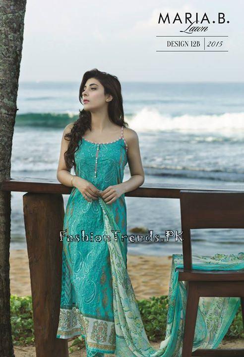 Maria B. Summer Lawn Dresses 2015 (6)
