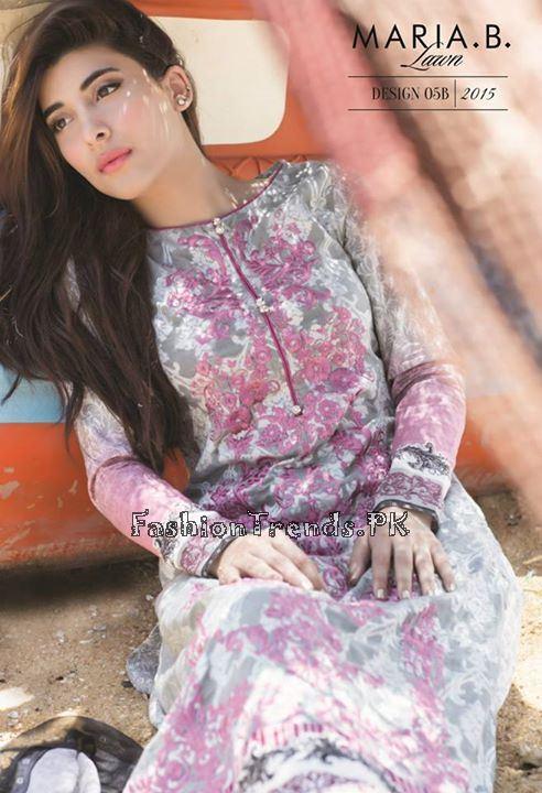 Maria B. Summer Lawn Dresses 2015 (9)