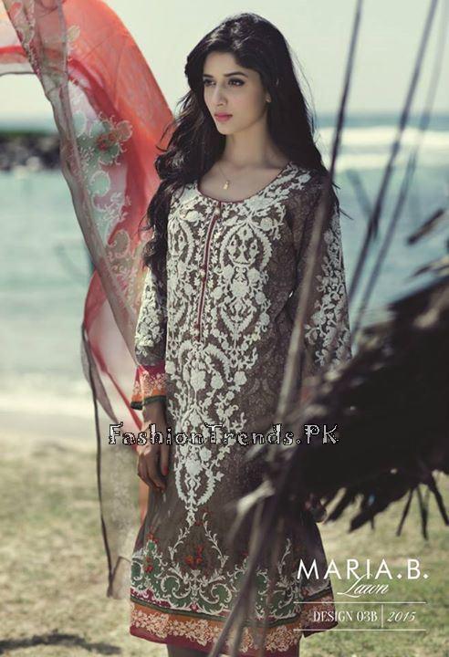 Maria B. Summer Lawn Dresses 2015 (10)