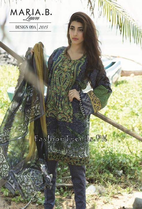 Maria B. Summer Lawn Dresses 2015 (16)