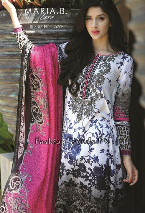Maria B. Summer Lawn Dresses 2015 (19)