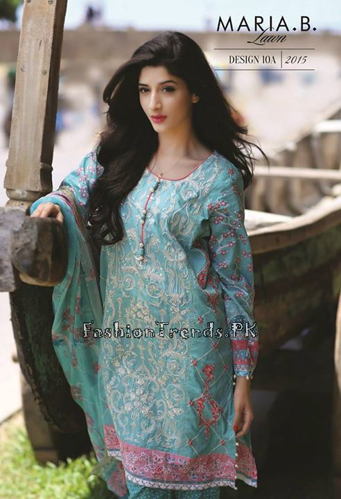 Maria B. Summer Lawn Dresses 2015 (20)