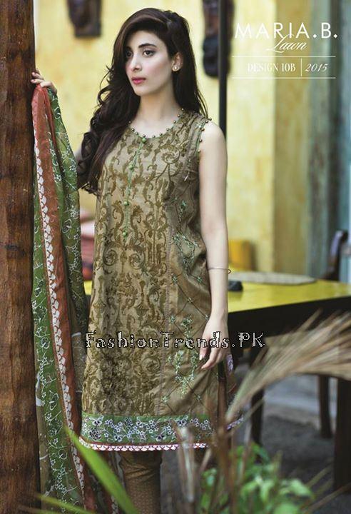 Maria B. Summer Lawn Dresses 2015 (24)