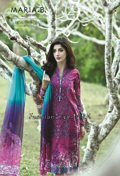 Maria B. Summer Lawn Dresses 2015 (26)