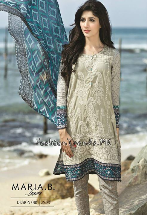Maria B. Summer Lawn Dresses 2015 (32)