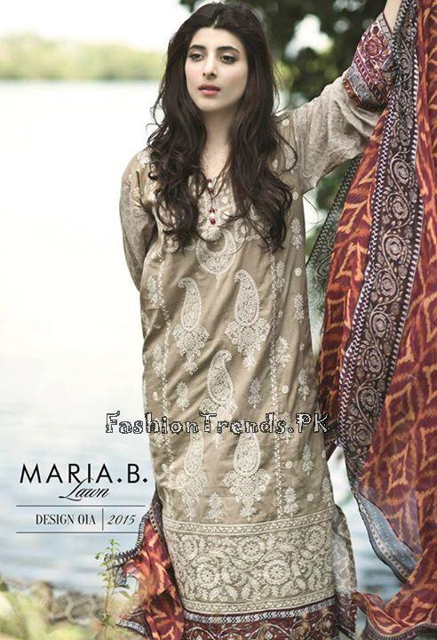 Maria B. Summer Lawn Dresses 2015 (35)