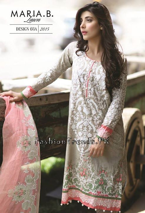 Maria B. Summer Lawn Dresses 2015 (40)