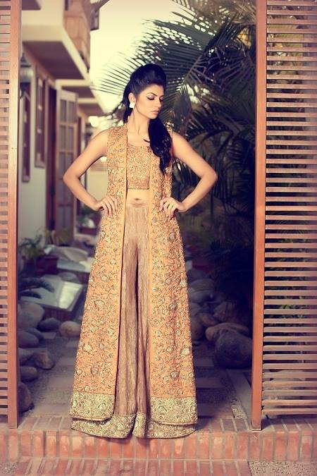 Mifrah Party Wear Collection 2015 (6)