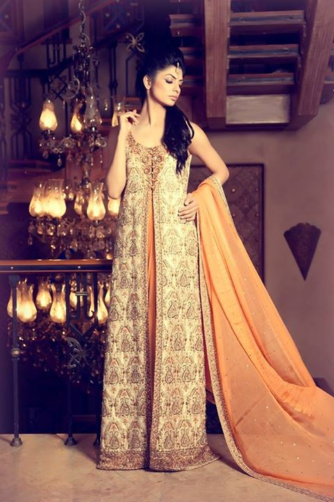 Mifrah Party Wear Collection 2015 (9)