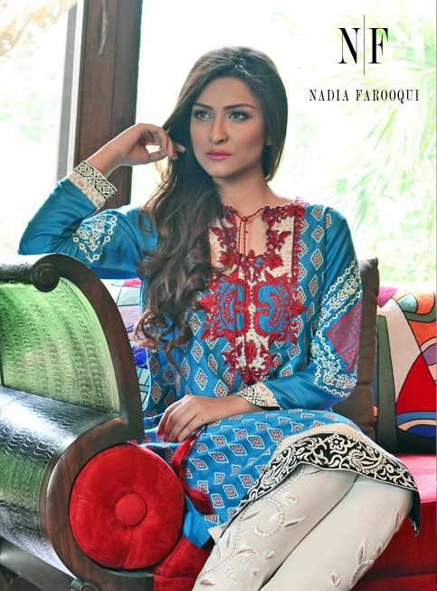 Nadia Farooqui Spring Collection 2015 (2)