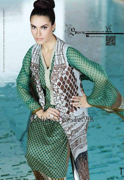 Nadia Hussain Premium Lawn Collection 2015 (2)