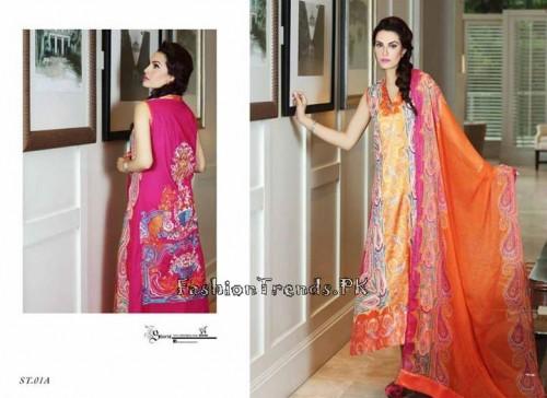 Nadia Hussain Premium Lawn Collection 2015 (4)