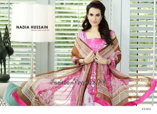 Nadia Hussain Premium Lawn Collection 2015 (6)