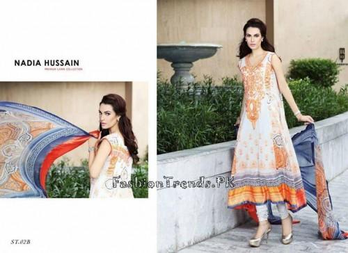 Nadia Hussain Premium Lawn Collection 2015 (8)