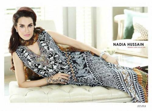 Nadia Hussain Premium Lawn Collection 2015 (9)