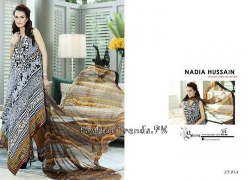 Nadia Hussain Premium Lawn Collection 2015 (10)