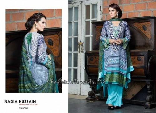 Nadia Hussain Premium Lawn Collection 2015 (11)