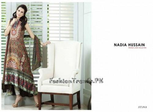 Nadia Hussain Premium Lawn Collection 2015 (12)