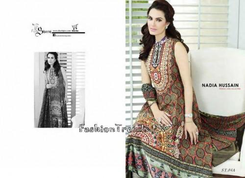 Nadia Hussain Premium Lawn Collection 2015 (13)