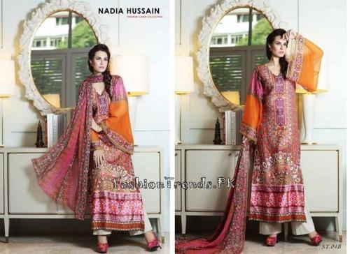 Nadia Hussain Premium Lawn Collection 2015 (14)