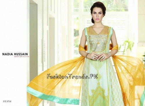 Nadia Hussain Premium Lawn Collection 2015 (15)