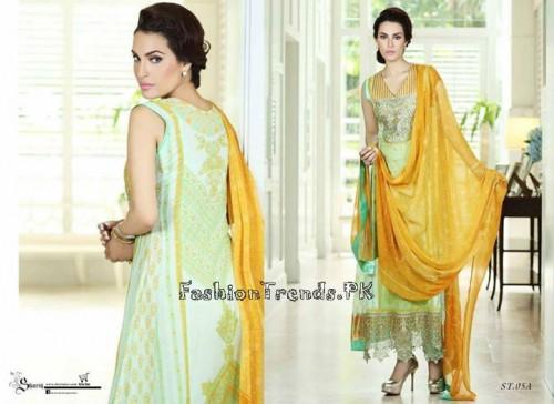 Nadia Hussain Premium Lawn Collection 2015 (16)