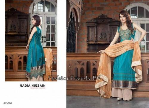 Nadia Hussain Premium Lawn Collection 2015 (17)