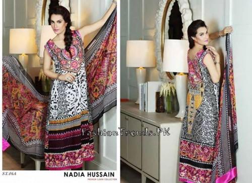 Nadia Hussain Premium Lawn Collection 2015 (18)