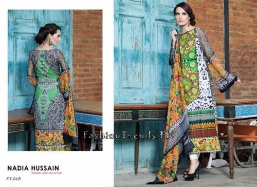 Nadia Hussain Premium Lawn Collection 2015 (19)