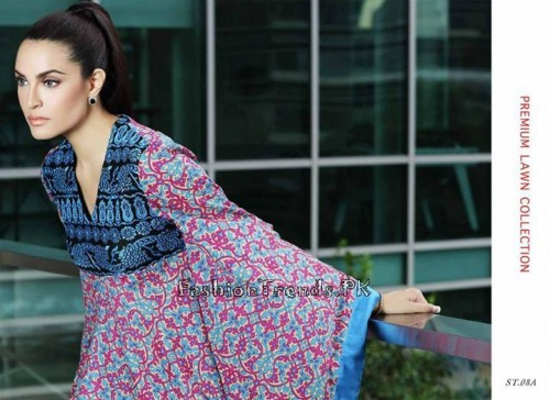 Nadia Hussain Premium Lawn Collection 2015 (22)