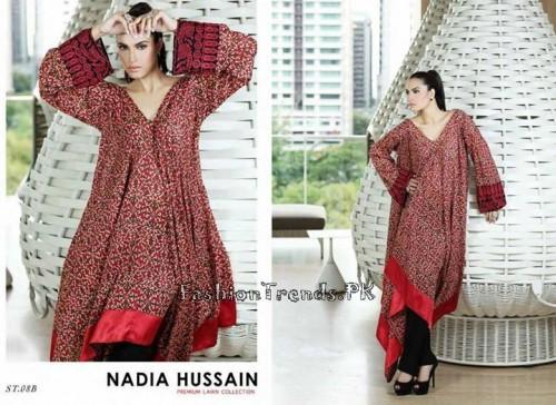 Nadia Hussain Premium Lawn Collection 2015 (24)