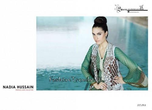 Nadia Hussain Premium Lawn Collection 2015 (25)