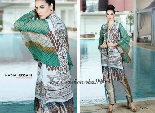 Nadia Hussain Premium Lawn Collection 2015 (26)