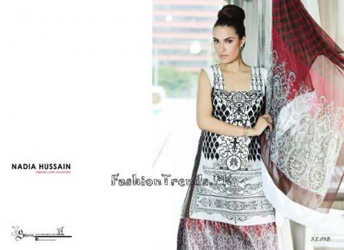 Nadia Hussain Premium Lawn Collection 2015 (27)