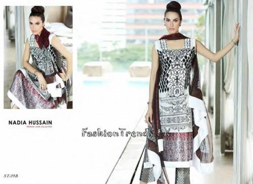 Nadia Hussain Premium Lawn Collection 2015 (28)