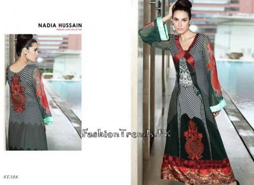Nadia Hussain Premium Lawn Collection 2015 (29)