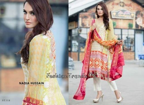 Nadia Hussain Premium Lawn Collection 2015 (31)