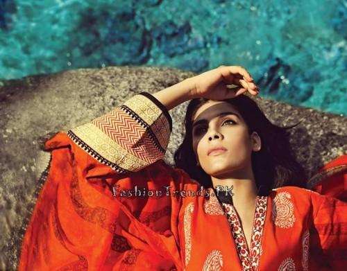 Sana Safinaz Summer Lawn Collection 2015 (1)