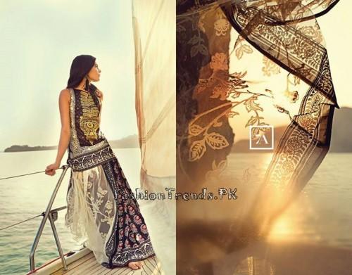 Sana Safinaz Summer Lawn Collection 2015 (2)