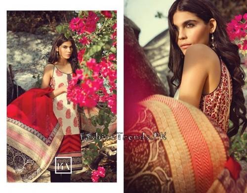 Sana Safinaz Summer Lawn Collection 2015 (7)