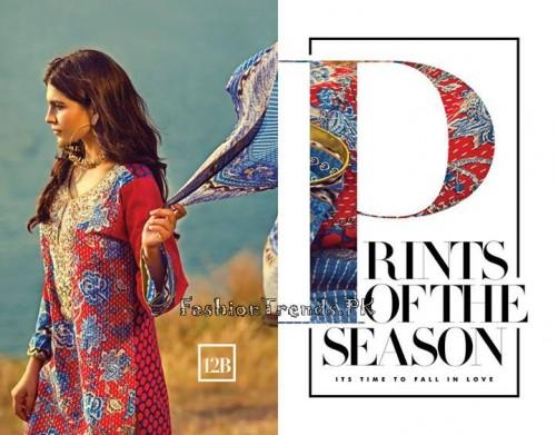 Sana Safinaz Summer Lawn Collection 2015 (15)